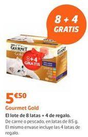 Oferta de Comida para gatos Gourmet por 5,5€