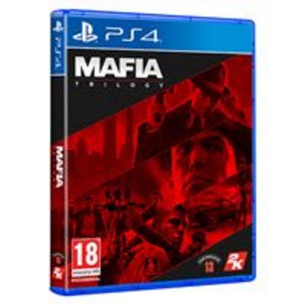 Oferta de Mafia Trilogy PS4 por 39,99€