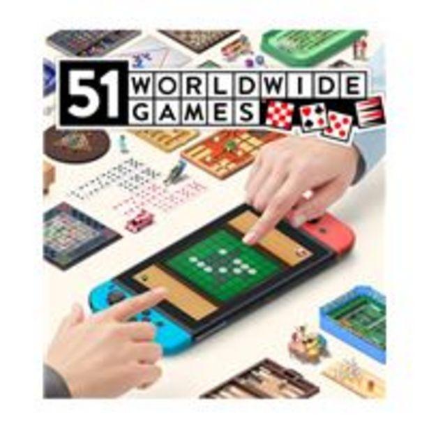 Oferta de 51 Worldwide Games Nintendo Switch por 34,99€