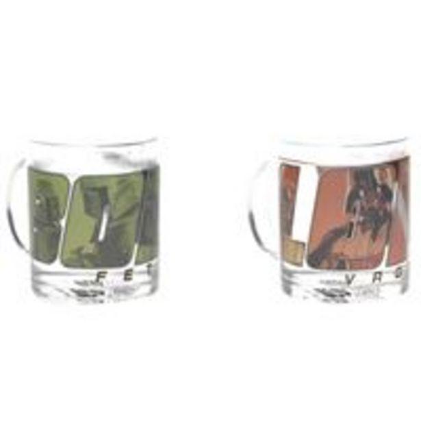 Oferta de Kit Tazas térmicas Star Wars - darth Vader & Boba Fett por 6,59€