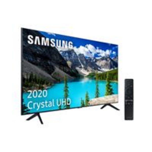 Oferta de TV LED 43'' Samsung UE43TU8005 4K UHD HDR Smart TV por 414,17€