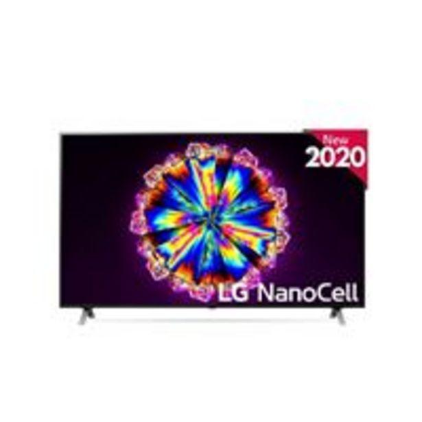 Oferta de TV LED 65'' LG Nanocell 65NANO906 IA 4K UHD HDR Smart TV Full Array por 999,9€