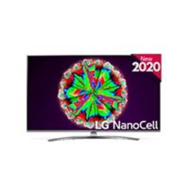 Oferta de TV LED 49'' LG Nanocell 49NANO816 IA 4K UHD HDR Smart TV por 569€