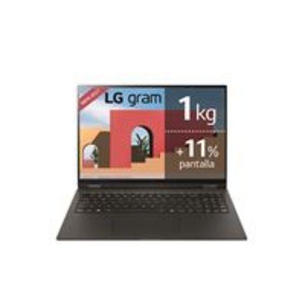 Oferta de Portátil LG Gram 16Z90P-G.AA78B 16'' Negro por 1349,9€