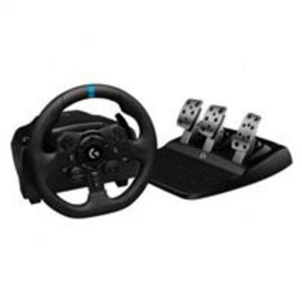 Oferta de Volante Logitech G923 para PS4/PS5/PC por 329€