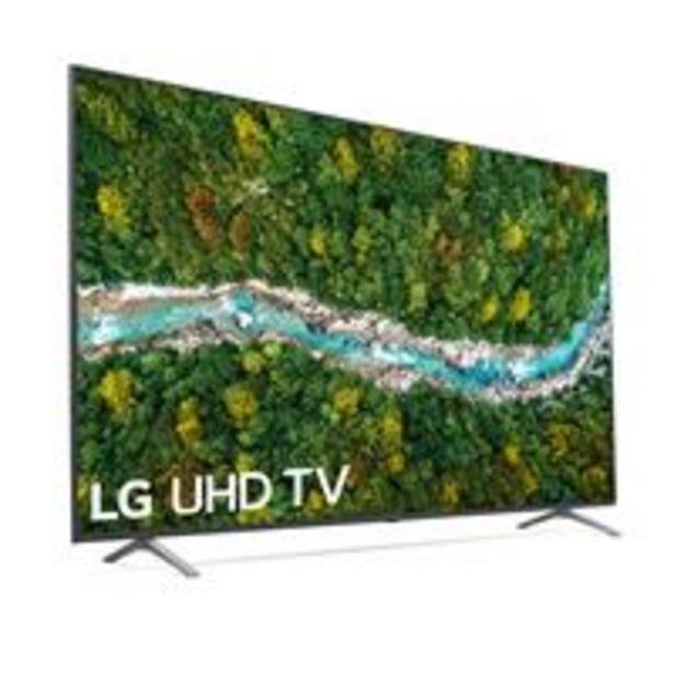 Oferta de TV LED 70'' LG 70UP77006LB 4K UHD HDR Smart TV por 727,24€
