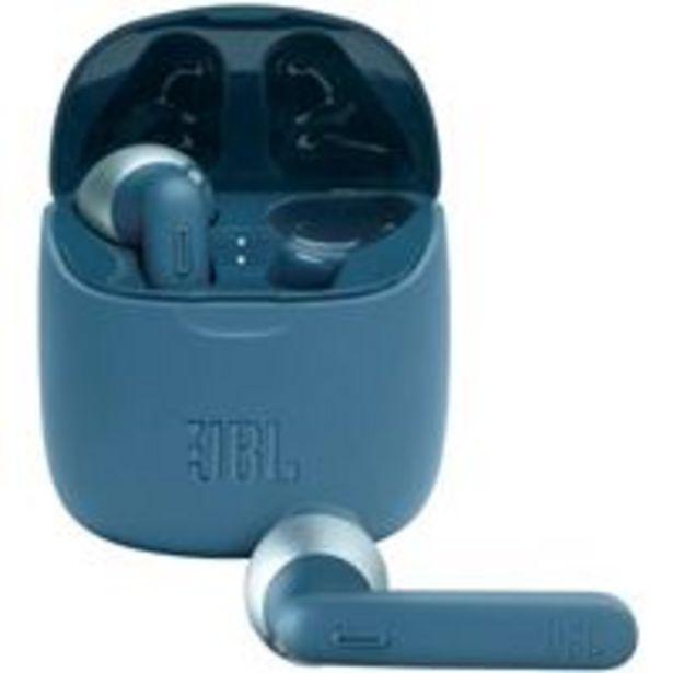Oferta de Auriculares Bluetooth JBL Tune 225 True Wireless Azul por 79,99€