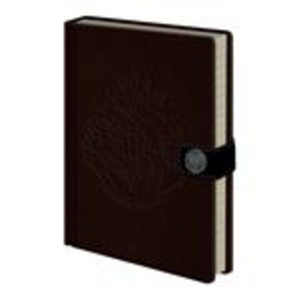 Oferta de Cuaderno A5 Premium Harry Potter Hogwarts por 12,68€