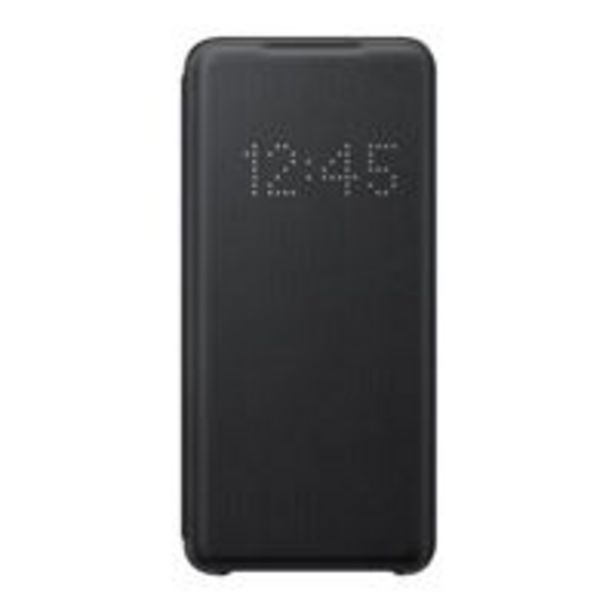 Oferta de Funda Samsung LED View Cover Negro para Galaxy S20 por 43,69€