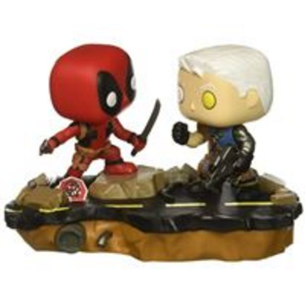 Oferta de Figura Funko Marvel Deadpool Vs Cable por 15€