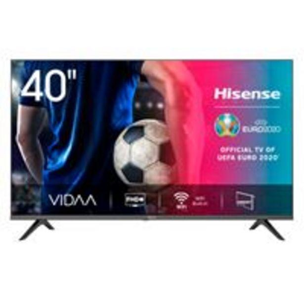 Oferta de TV LED 40'' Hisense 40A5600F Full HD  Smart TV por 280,66€