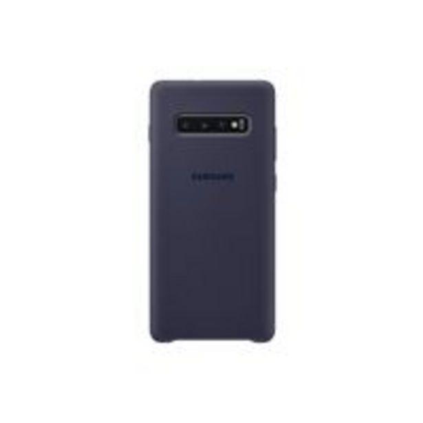 Oferta de Funda de silicona Samsung para Galaxy S10+ Azul Navy por 18,09€