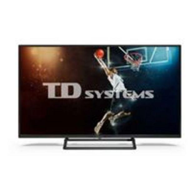 Oferta de TV LED 40'' TD Systems K40DLX11FS DLED Full HD Smart TV por 227,91€