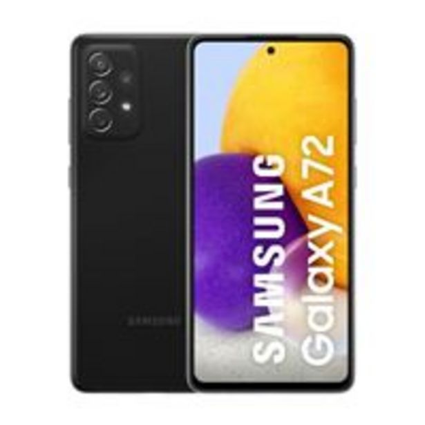 Oferta de Samsung Galaxy A72 6,7'' 128GB Negro por 399€