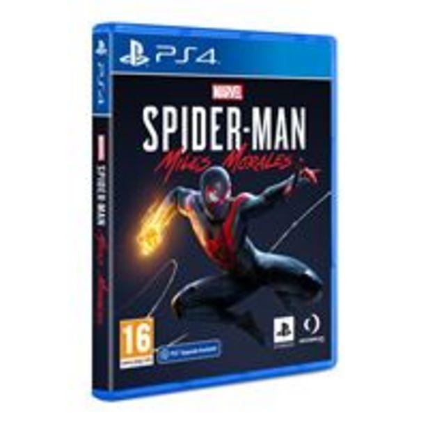 Oferta de Marvel's Spiderman: Miles Morales PS4 por 54,99€