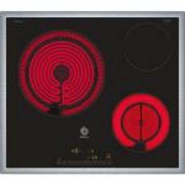Oferta de Placa Vitrocerámica Balay 3EB765XQ 60 CM 3 Fuegos por 263,99€