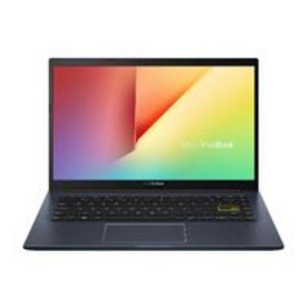 """Oferta de Portátil Asus VivoBook 14 X413JA-EB594 Intel i7 1065G7/16GB/512 SSD/14"""" SIN S.O. por 749,9€"""