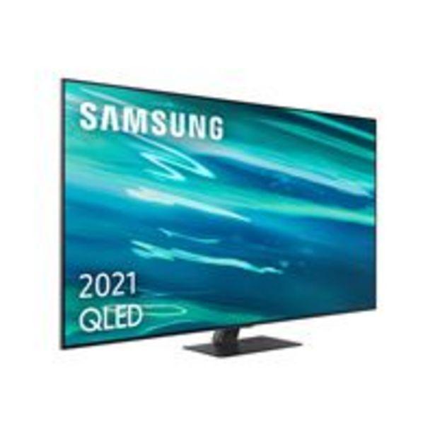 Oferta de TV QLED 75'' Samsung QE75Q80A 4K UHD HDR Smart TV por 2339,9€