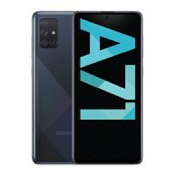 Oferta de Samsung Galaxy A71 6,7'' 128GB Negro por 289€