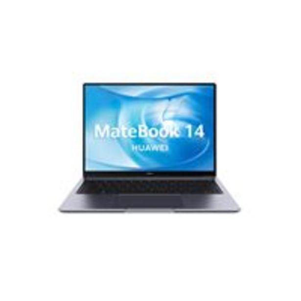 "Oferta de Portátil Huawei Matebook 14 AMD R7-4800H/16/512/W10 14"" por 949€"