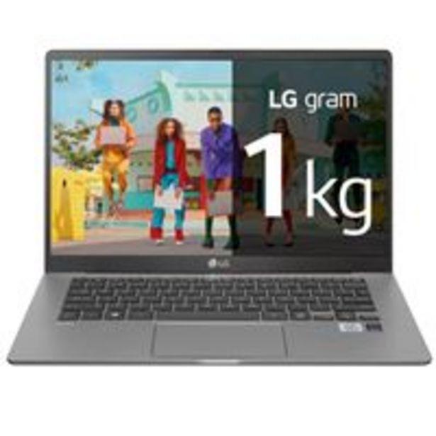 Oferta de Portátil LG Gram 14Z90N-V-AR51B 14'' Gris por 849,9€