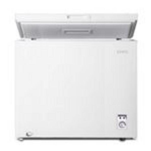 Oferta de Congelador CHiQ FCF142D 142L 40 dB A+, blanco por 239,99€