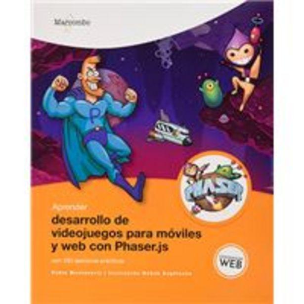 Oferta de Aprender desarrollo de videojuegos para móviles y web con Phaser.js - Con 100 ejercicios prácticos por 20,33€