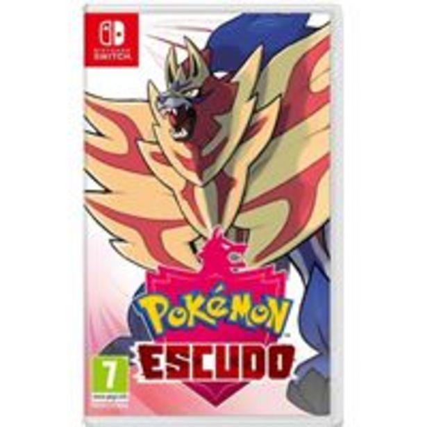 Oferta de Pokémon Escudo Nintendo Switch por 39,99€