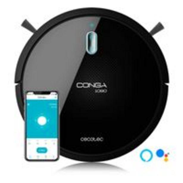 Oferta de Robot Aspirador Cecotec Conga 1090 Connected por 169€