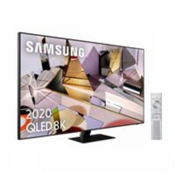 Oferta de TV QLED 65'' Samsung QE65Q700T8K UHD HDR Smart TV por 2299,9€
