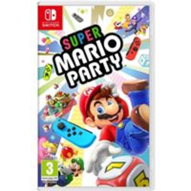 Oferta de Super Mario Party Nintendo Switch por 49,99€