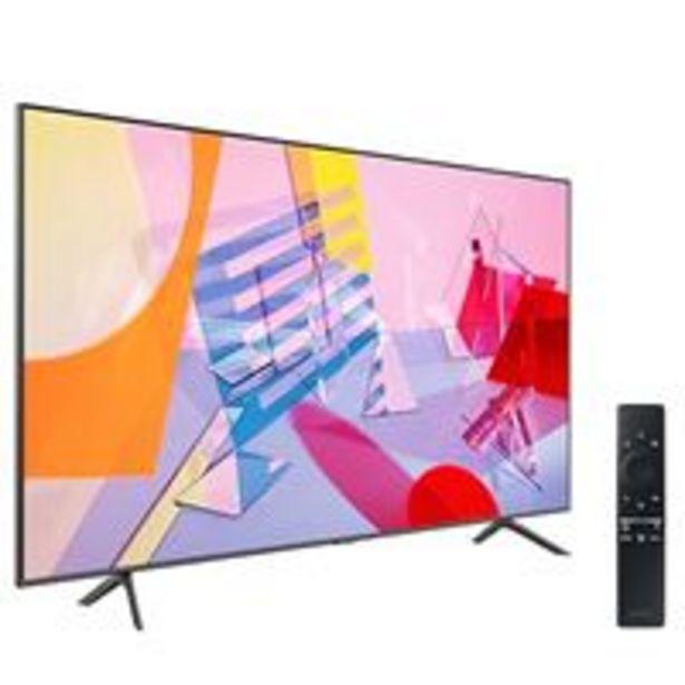 Oferta de TV QLED 50'' Samsung QE50Q60T 4K UHD HDR Smart TV por 559,92€