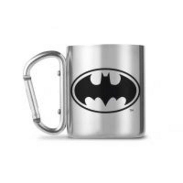 Oferta de Taza con mosqueton DC Batman Logo por 8,24€