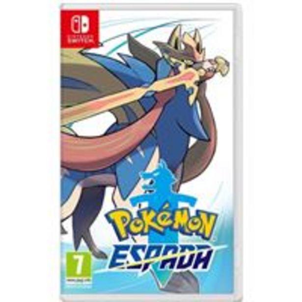Oferta de Pokémon Espada Nintendo Switch por 39,99€
