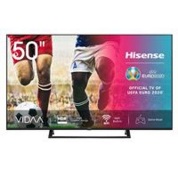 Oferta de TV LED 50'' Hisense 50A7300F 4K UHD HDR Smart TV por 389,9€