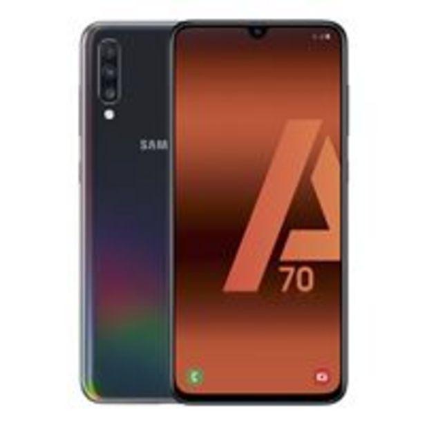 Oferta de Samsung Galaxy A70 6,7'' 128GB Negro por 259,9€
