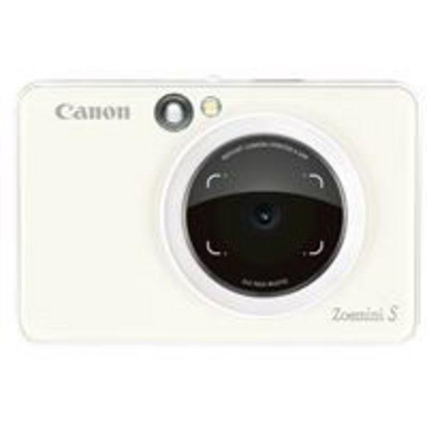 Oferta de Cámara instantánea Canon Zoemini S Blanco por 129,9€