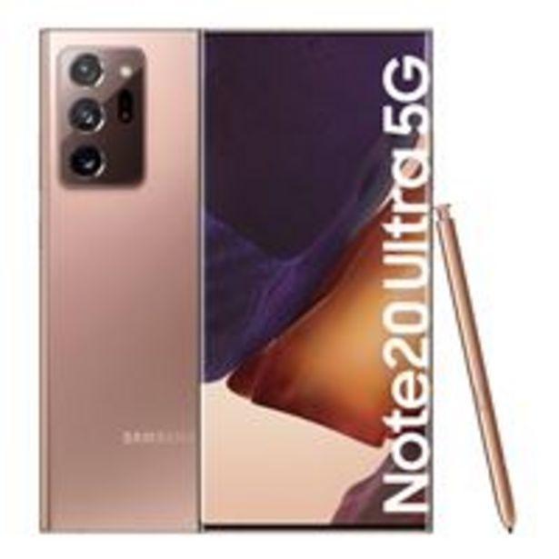 Oferta de Samsung Galaxy Note 20 Ultra 5G 6,9'' 256GB Bronce por 999€