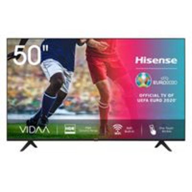 Oferta de TV LED 50'' Hisense 50A7100F 4K UHD HDR Smart TV por 359,9€