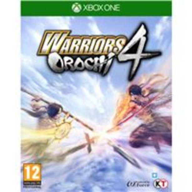 Oferta de Warriors Orochi 4 XBox One por 13,5€
