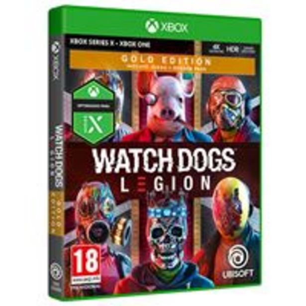 Oferta de Watch Dogs Legion Gold Edition Xbox Series X / Xbox One por 56,99€