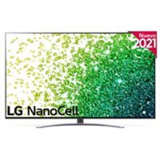 Oferta de TV LED 65'' LG NanoCell 65NANO886PB 4K UHD HDR Smart TV Plata por 1149€