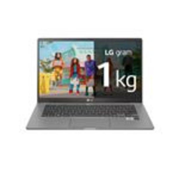 Oferta de Ultrabook Lg 14Z90N-V.Aa78B I7-1065G7/8G/512Ssd/14/W10 G por 1377,83€