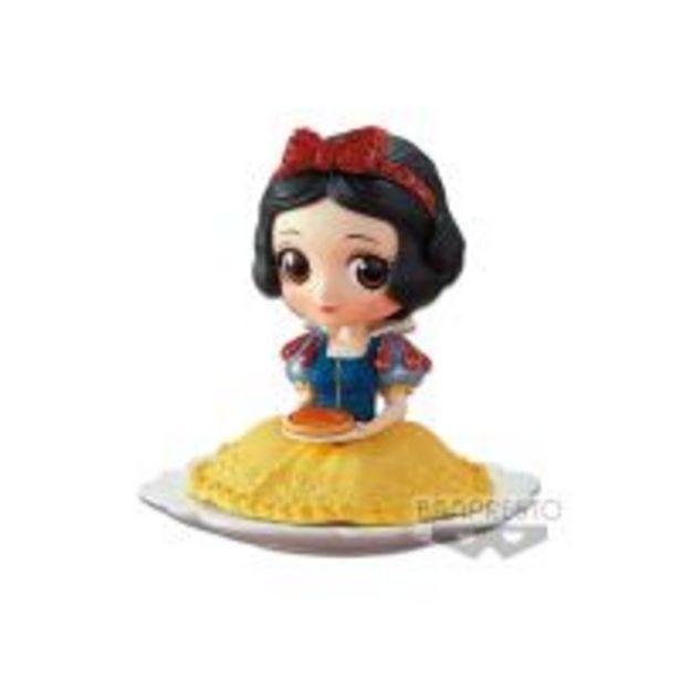 Oferta de Figura Q Posket Disney Blancanieves con pastel por 20€