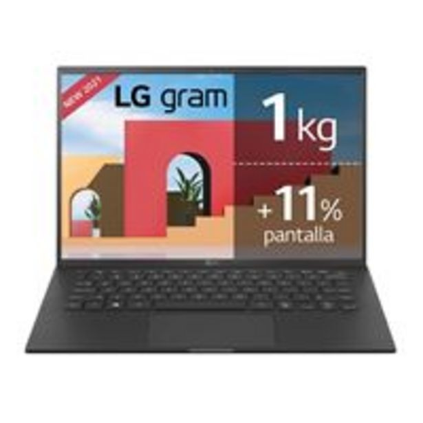 Oferta de Portátil LG Gram 14Z90P-G.AA78B 14'' Negro por 1199,9€