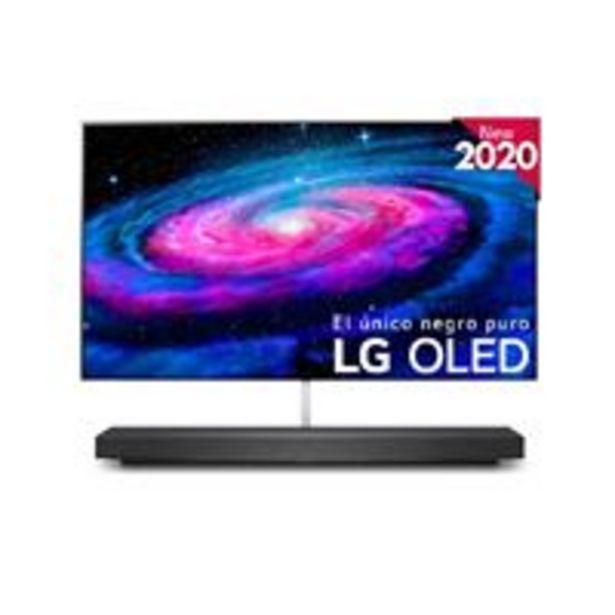Oferta de TV OLED 65'' LG OLED65WX9LA IA 4K UHD HDR Smart TV + Barra de sonido por 4079,91€