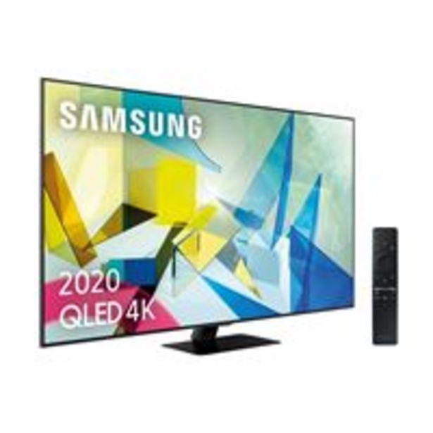 Oferta de TV QLED 65'' Samsung QE65Q80T 4K UHD HDR Smart TV por 1445,55€