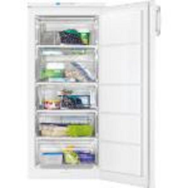 Oferta de Congelador vertical Zanussi ZFU19400WA con Power Freeze A+ blanco por 428,25€