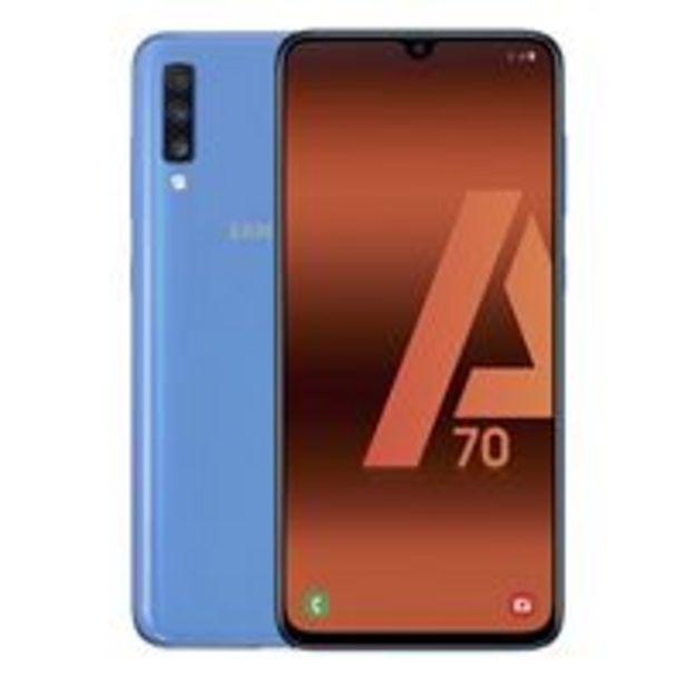Oferta de Samsung Galaxy A70 6,7'' 128GB Azul por 259,9€