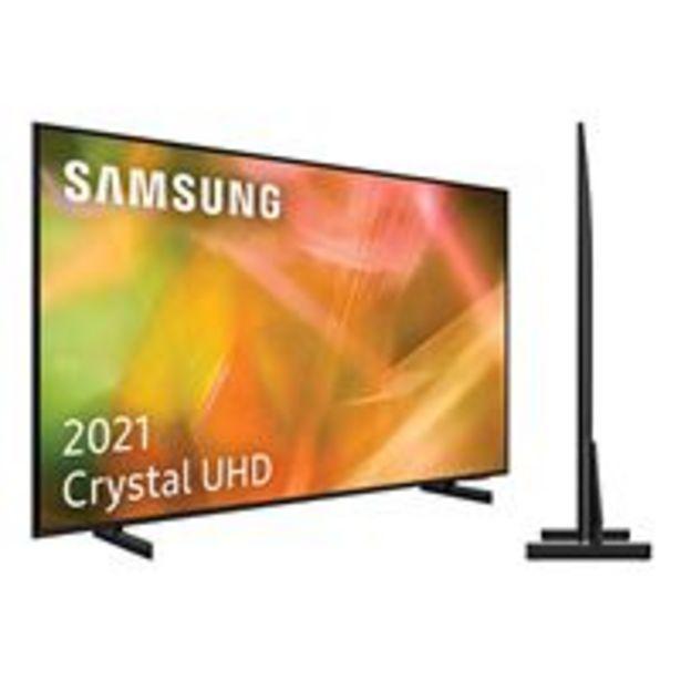Oferta de TV LED 55'' Samsung UE55AU8005 Crystal 4K UHD HDR Smart TV por 599,9€